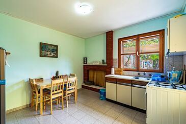Bratinja Luka, Jedáleň v ubytovacej jednotke house, domáci miláčikovia povolení.