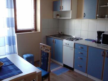 Cres, Kuhinja u smještaju tipa apartment, WiFi.