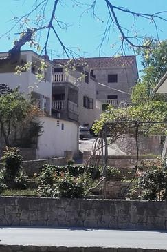 Supetar, Brač, Property 12624 - Apartments with pebble beach.