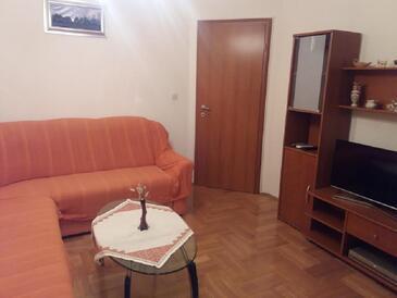 Sevid, Dnevni boravak u smještaju tipa apartment, dostupna klima i WiFi.