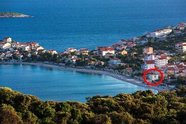 Sevid, Trogir, Objekt 12671 - Ubytování v blízkosti moře s oblázkovou pláží.
