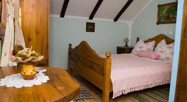 Gredice, Ložnice v ubytování typu room, s klimatizací, domácí mazlíčci povoleni a WiFi.