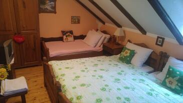 Gredice, Bedroom in the room, dostupna klima, dopusteni kucni ljubimci i WIFI.