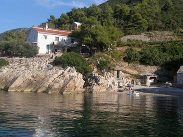 Pakomina, Hvar, Objekt 12702 - Ubytování v blízkosti moře s oblázkovou pláží.