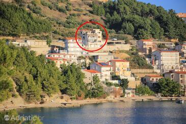 Stanići, Omiš, Объект 12723 - Апартаменты вблизи моря с галечным пляжем.