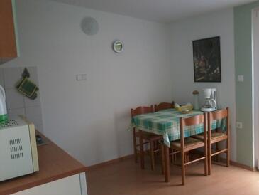 Ražanj, Jídelna v ubytování typu apartment, WiFi.