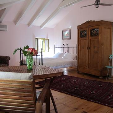 Rovinj, Living room in the apartment, dostupna klima i WIFI.