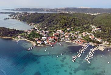 Kampor, Rab, Property 12773 - Apartments and Rooms near sea with sandy beach.
