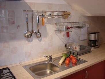 Pag, Кухня в размещении типа studio-apartment, WiFi.