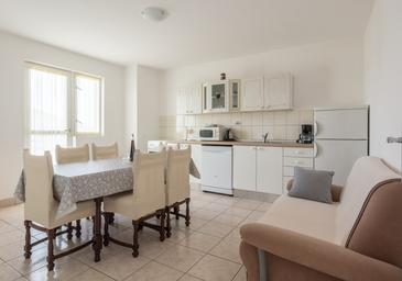 Biograd na Moru, Living room in the apartment, (pet friendly) and WiFi.