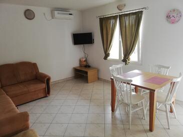 Zavala, Jedilnica v nastanitvi vrste apartment, dostopna klima, Hišni ljubljenčki dovoljeni in WiFi.