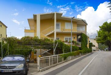Podgora, Makarska, Objekt 12816 - Ubytování s oblázkovou pláží.