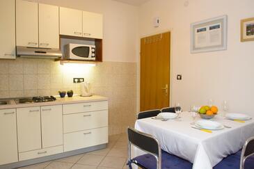 Rogoznica, Jadalnia w zakwaterowaniu typu apartment, WiFi.