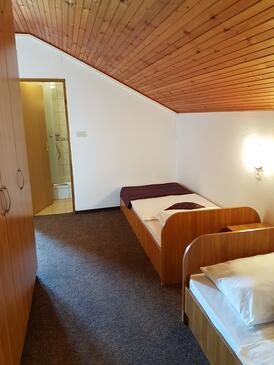 Grabovac, Спальня 1 в размещении типа room, dostupna klima i WIFI.