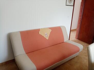 Orebić, Гостиная в размещении типа studio-apartment, Домашние животные допускаются и WiFi.