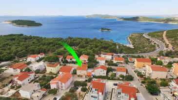 Bilo, Primošten, Property 12868 - Apartments with pebble beach.