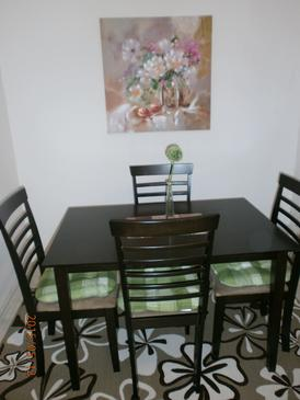 Samobor, Dining room in the apartment, (pet friendly) and WiFi.