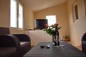 Nin, Гостиная в размещении типа apartment, Домашние животные допускаются и WiFi.