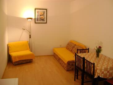 Lokva Rogoznica, Ebédlő szállásegység típusa apartment, légkondicionálás elérhető és WiFi .