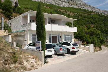 Lokva Rogoznica, Omiš, Property 12906 - Apartments with pebble beach.