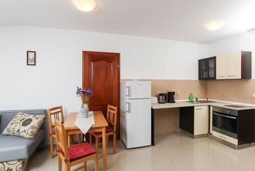 Lopud, Jídelna v ubytování typu studio-apartment, WiFi.