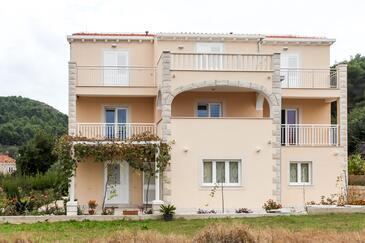 Lopud, Elafiti, Property 12910 - Apartments near sea with sandy beach.