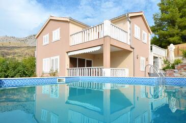 Podstrana, Split, Property 12918 - Vacation Rentals with pebble beach.