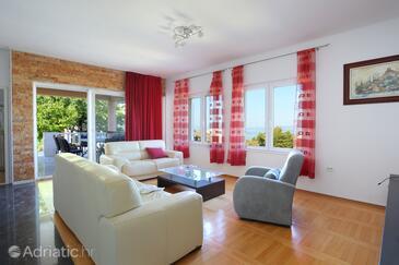 Podstrana, Living room in the house, WiFi.