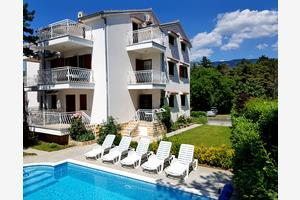 Apartments with a swimming pool Jadranovo (Crikvenica) - 12921
