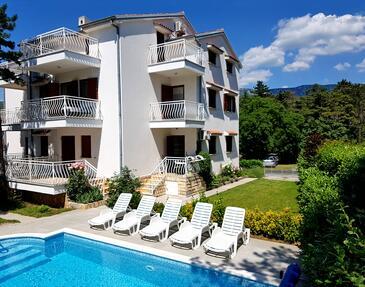 Jadranovo, Crikvenica, Hébergement 12921 - Appartement en Croatie.