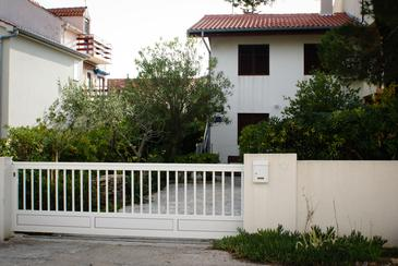 Sabunike, Zadar, Objekt 12960 - Ubytování s oblázkovou pláží.