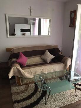 Zaton, Obývací pokoj v ubytování typu apartment, domácí mazlíčci povoleni a WiFi.