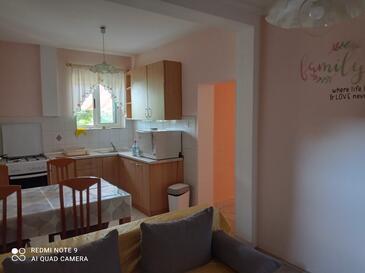 Privlaka, Kuchyně v ubytování typu apartment, domácí mazlíčci povoleni a WiFi.