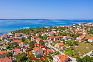 Privlaka, Zadar, Property 12989 - Apartments with sandy beach.