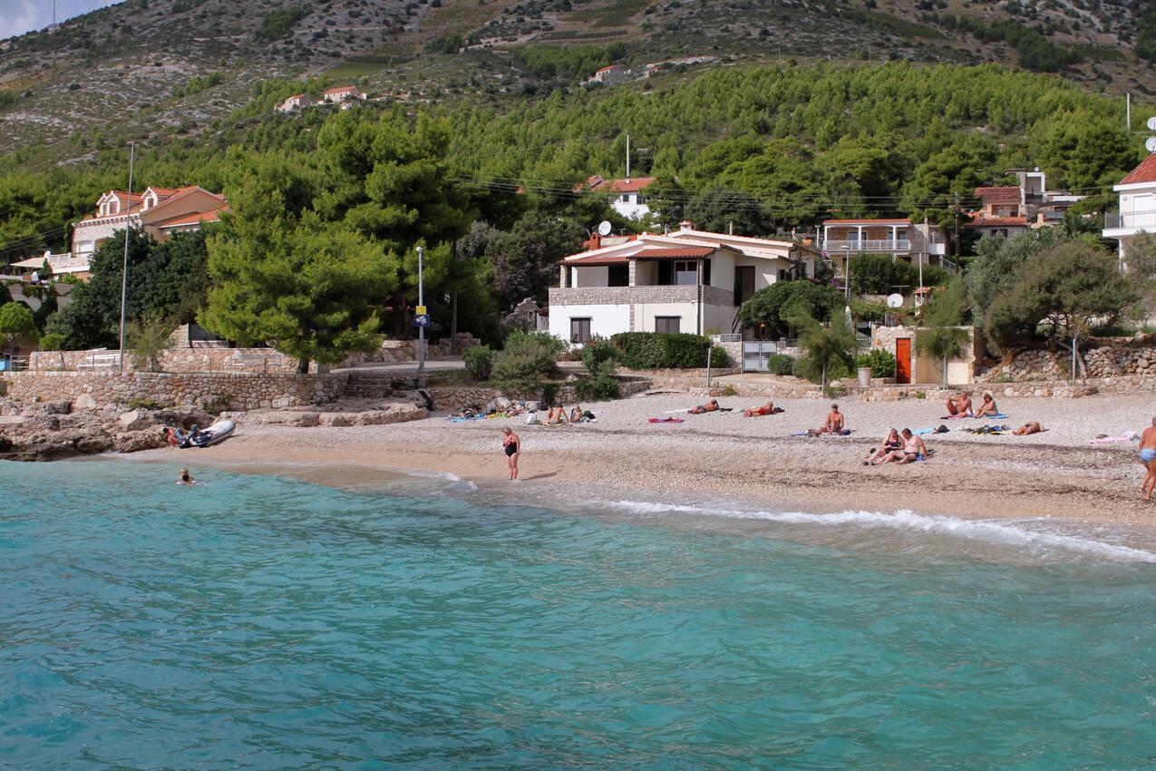 Ivan Dolac apartmány přímo u moře