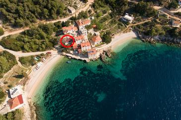 Tvrdni Dolac, Hvar, Property 13018 - Vacation Rentals near sea with pebble beach.