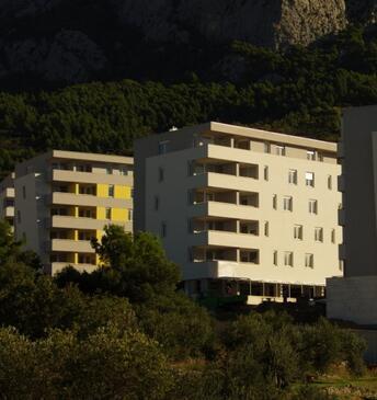 Makarska, Makarska, Objekt 13028 - Ubytovanie s kamienkovou plážou.