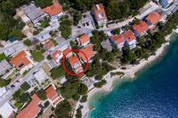 Apartments by the sea Brela (Makarska) - 13052