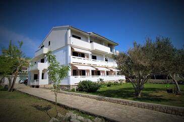 Pag, Pag, Property 13060 - Apartments and Rooms with pebble beach.