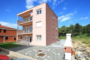 Zadar, Zadar, Объект 13127 - Апартаменты с галечным пляжем.