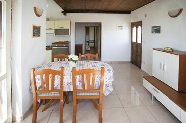 Maslinica, Столовая в размещении типа apartment, доступный кондиционер и WiFi.