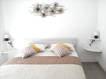 Hvar, Ložnice v ubytování typu room, s klimatizací a WiFi.