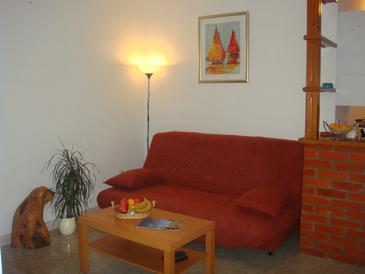 Supetar, Living room in the apartment, WiFi.
