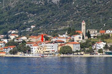 Gradac, Makarska, Objekt 13181 - Ubytování v blízkosti moře s oblázkovou pláží.