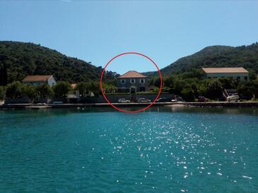 Broce, Pelješac, Objekt 13182 - Ubytování v blízkosti moře s oblázkovou pláží.