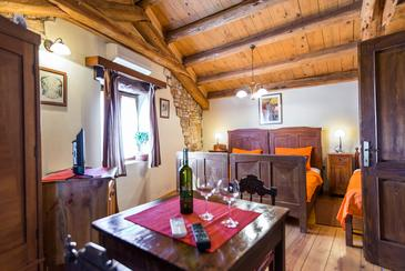 Bratulići, Schlafzimmer in folgender Unterkunftsart room, dostupna klima i WIFI.