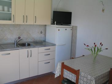 Žuronja, Kitchen in the apartment, (pet friendly) and WiFi.