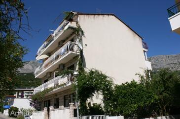 Podgora, Makarska, Alloggio 13216 - Appartamenti affitto vicino al mare con la spiaggia ghiaiosa.