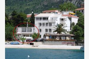 Family friendly seaside apartments Gradac, Makarska - 13259