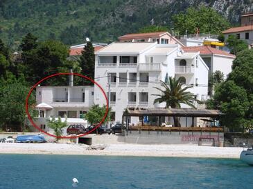 Gradac, Makarska, Objekt 13259 - Ubytování v blízkosti moře s oblázkovou pláží.